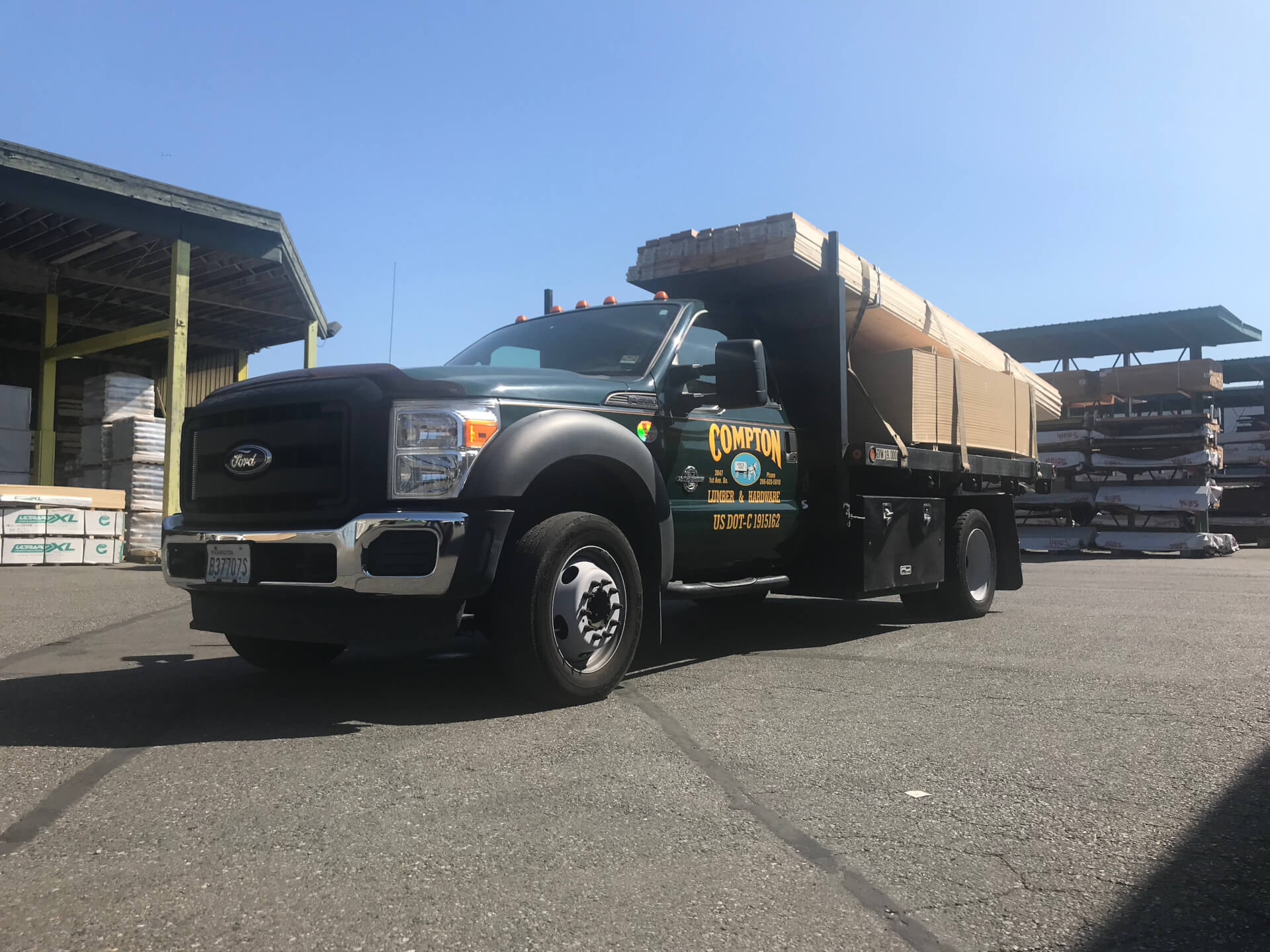 Compton Lumber Delivery Truck