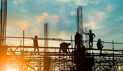 Compton Builders at work
