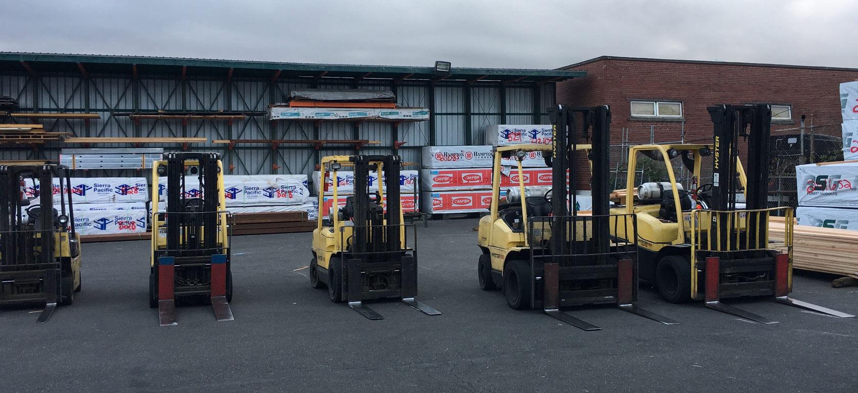 Compton Lumber & Hardware Forklifts